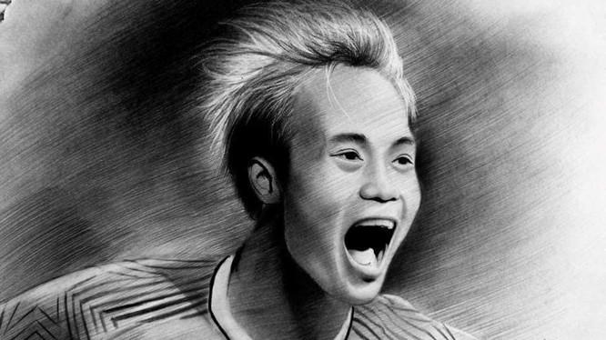 Văn Toàn sẽ đảm nhận sứ mệnh giúp HAGL có điểm trong trận đấu trên sân Thống Nhất. (ảnh: Họa sĩ Hậu)