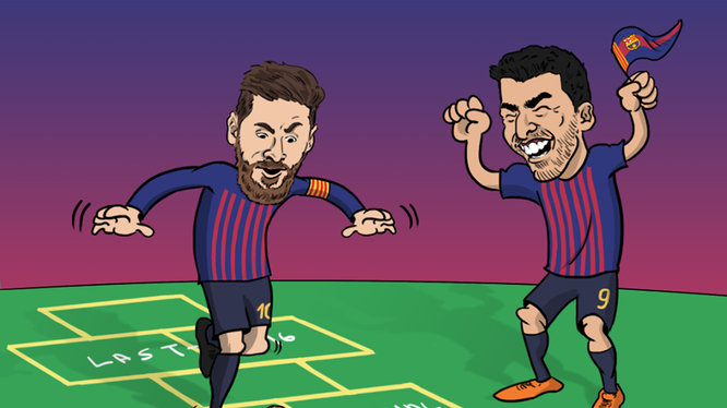 Barca và nhiều ông lớn châu Âu đã gây bất ngờ tại Champions League. Ảnh BR.