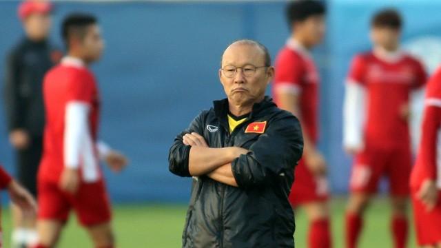 Ông Park sẽ có lá bài trong tay áo để đấu với Malaysia? Ảnh VPF.