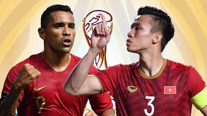 Nếu giành chiến thắng thì ĐT Việt Nam sẽ vươn lên ít nhất là vị trí nhì bảng. Ảnh AT