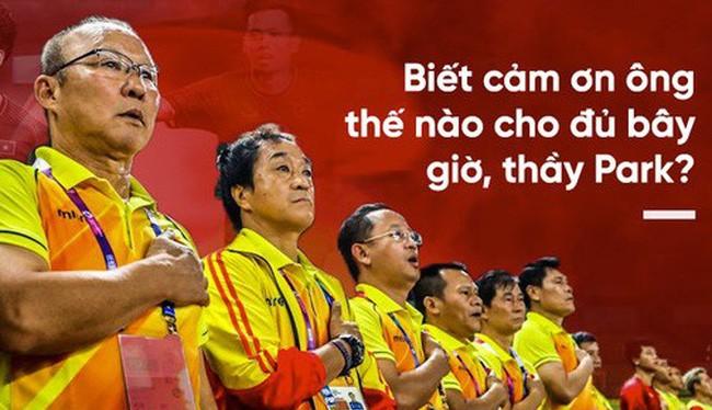 HLV Park Hang-seo đã mang lại những trận thắng quan trọng cho đội tuyển Việt Nam