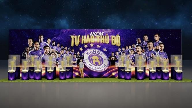 Hà Nội FC- niềm tự hào của bóng đá Việt Nam, Ảnh HNFC.
