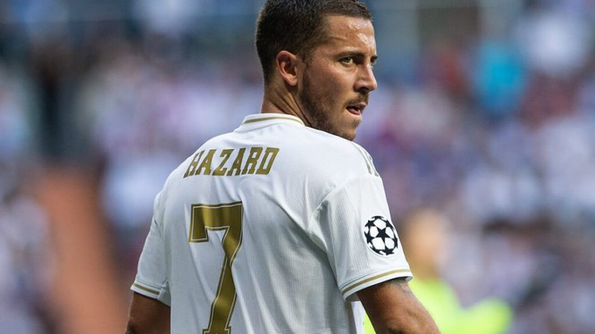 Con số 1 bàn thắng cùng với 2 kiến tạo sau 10 trận không phải là những gì fan hâm mộ Real mong muốn. Ảnh Real FC