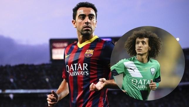 """Xavi đã phải thốt lên: """"Tôi thấy anh ấy đá không khác gì Messi thật"""". Ảnh ESPN"""