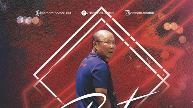 Ông Park có lễ kỷ niệm 2 năm lễ ra mắt bóng đá Việt Nam thật ấn tượng. Ảnh VF.