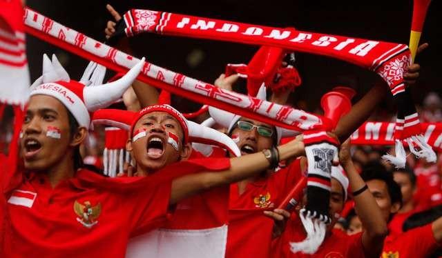 CĐV Indonesia tin rằng kịch bản vòng bảng SEA Games 2017 sẽ được lặp lại. Ảnh MSN.