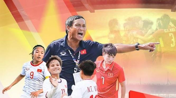Các cô gái Việt Nam đang có cơ hội đến tham dự Olympic Tokyo năm 2020. Ảnh VFF