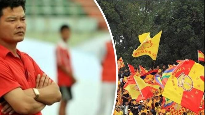 Tại đội bóng Nam Định, Văn Sỹ như một người thầy, người cha. Ảnh An Thanh.