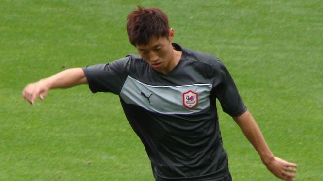 Tiền vệ Kim Bo-kyung của CLB Ulsan Hyundai, cầu thủ tốp 3 xuất sắc nhất K-League 1 năm 2019 trên đường đến Trung Quốc. Ảnh Ulsan Hyundai.