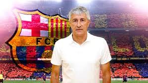"""""""Trong suốt sự nghiệp huấn luyện, Setien là người ủng hộ bóng đá tấn công dựa trên khả năng kiểm soát bóng và lối chơi cuốn hút người hâm mộ"""", thông cáo của Barca đã làm vừa lòng người hâm mộ. Ảnh CLB"""