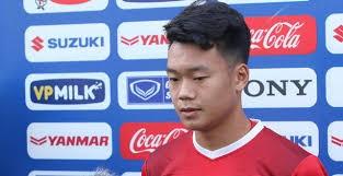 Thành Chung đã có 1 VCK U23 châu Á thành công. Ảnh VFF.