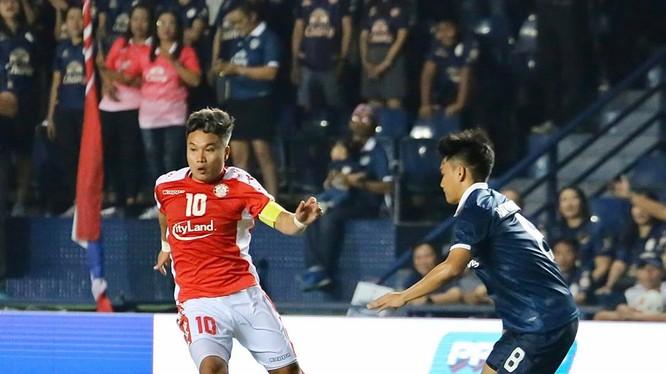 Việc TP.HCM tham gia vòng sơ loại thành công có ý nghĩa rất lớn đối với bóng đá Việt Nam, rất tiếc họ đã sớm rời cuộc đua sau khi thua Buriram United 1-2. Ảnh CLB.