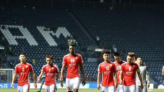 Đội bóng có giá trị cao nhất ở Việt Nam là CLB TP.HCM (1,25 triệu euro). Ảnh CLB TP.HCM.