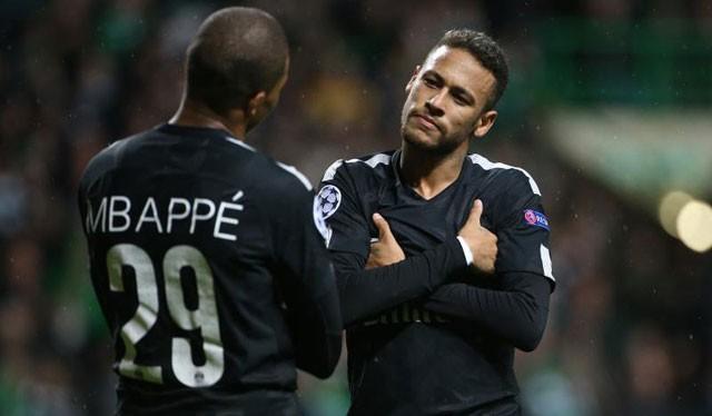Neymar và Mbappe đều chuyển đến PSG vào hè 2017 lần lượt với tư cách cầu thủ đắt nhất và đắt nhì thế giới bóng đá. Ảnh PSG.