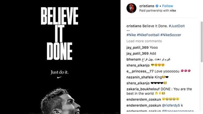 Tạp chí Forbes bật mí siêu sao Juventus, Ronaldo sở hữu khối tài sản lên đến 108 triệu USD (ảnh CNN)