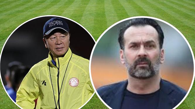 Ông Chung Hae-seong cần phải có 3 điểm để bám đuổi Hà Nội FC, còn HLV Fabio Lopez cần điểm để giữ chiếc ghế của mình. Ảnh AT.