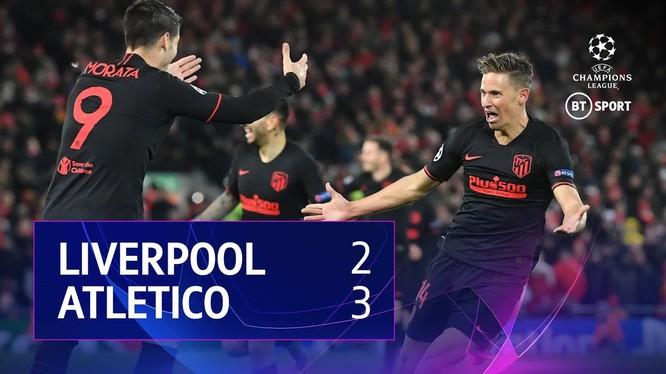 Liverpool bất ngờ để thua ngược 2-3 sau trận đấu kéo dài 120 phút. Trận thua đã khiến nhà vô địch Liverpool sớm chia tay Champions League. Ảnh Getty.