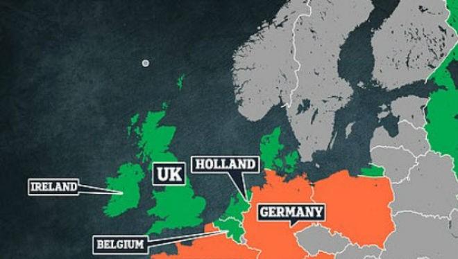 Các quốc gia châu Âu có người bị nhiễm Covid-19. Ảnh WHO