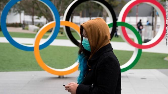Thủ tướng Nhật Bản ông Shinzo Abe đã đi đến quyết định hoãn thế vận hội trong bối cảnh đại dịch Covid-19 đang hoành hành. Ảnh IOC