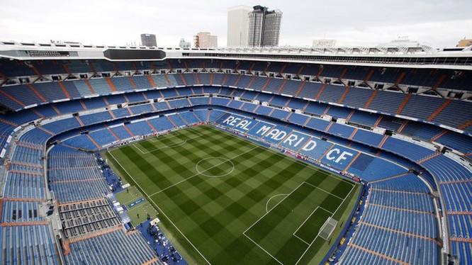 Việc sân vận động Santiago Bernabeu thành trung tâm y tế để hỗ trợ chống dịch Covid-19 khiến đây trở thành địa điểm chống dịch quy mô và hiện đại bậc nhất thế giới. Ảnh CLB.