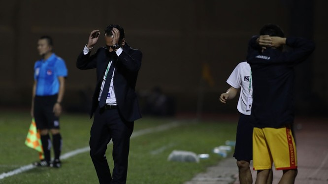 Thanh Hóa dưới sự chỉ đạo của HLV Fabio Lopez là 1 trong 3 đội bóng trắng tay sau 2 vòng đầu, chậm chí còn chưa có bàn thắng. Ảnh CLB.