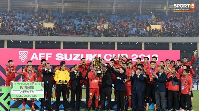 Next Media vừa thông báo sở hữu độc quyền bản quyền truyền thông giải đấu AFF Cup 2020. Ảnh Tiến Tuấn.