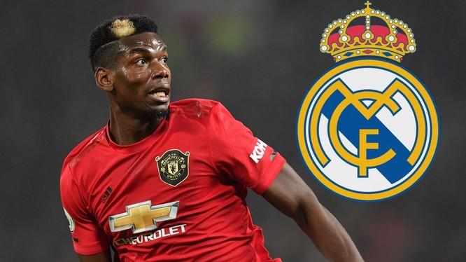 Paul Pogba đã trình bày với ban lãnh đạo MU về mong muốn chuyển sang Real Madrid ở kỳ chuyển nhượng Hè này. Ảnh Mirror.
