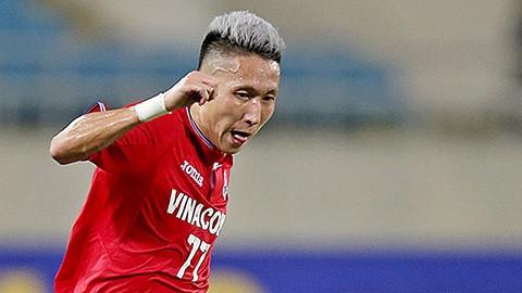 Nghiêm Xuân Tú là cầu thủ khá vô duyên với đội tuyển quốc gia. Ảnh Than QN