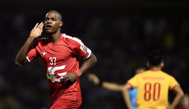 "Đồng ""Vua phá lưới"" V.League 2019 Bruno Cunha của CLB Viettel Ảnh Viettel"