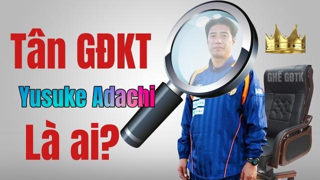 Ông Adachi sinh năm 1961, từng sang Việt Nam đào tạo bằng HLV AFC Pro. Ảnh tin360.