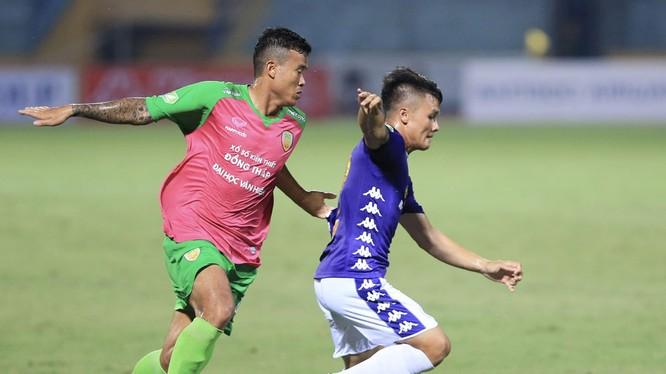 Hà Nội FC vẫn là thế lực lớn. Ảnh VPF