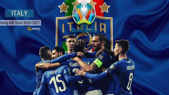 Trên con đường chinh phục chức vô địch Euro, đoàn quân áo thanh thiên đang kỳ vọng xô đổ nhiều kỷ lục. Ảnh AP