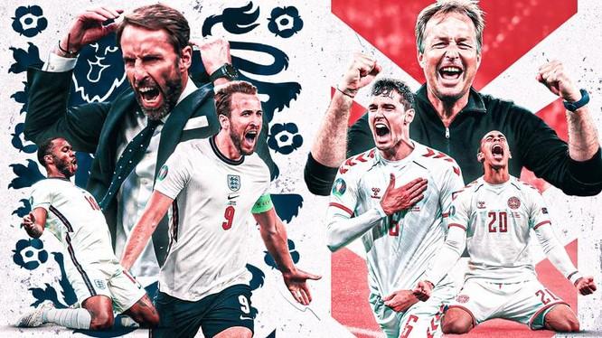 Đội bóng của HLV Gareth Southgate đang có kỳ vọng giương cao Cúp vàng kể từ trận chung kết World Cup 1966. Ảnh Sky.