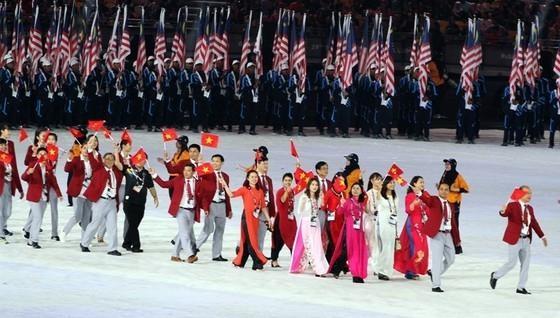 Đoàn Việt Nam gồm 18 VĐV tham dự Olympic Tokyo 2020 . Ảnh TTXVN