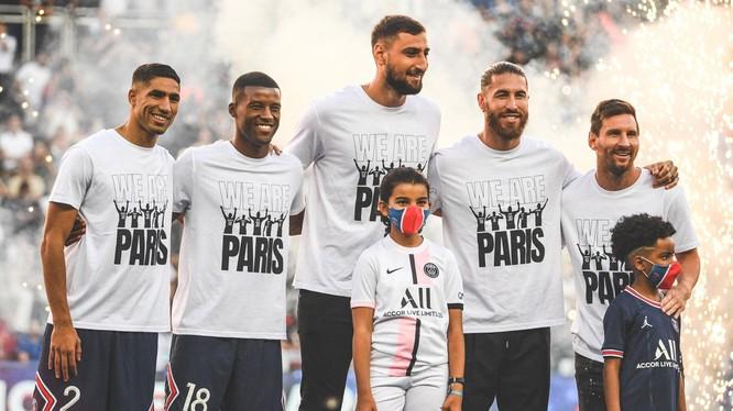 CLB PSG vừa tậu cùng một lúc 5 ngôi sao hàng đầu sân cỏ châu Âu. Ảnh Sky Sport,