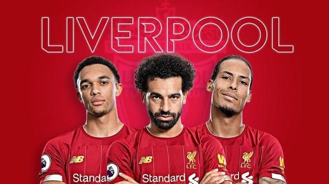 Các BLV thể thao Anh xếp Liverpool, sau ba ứng cử viên lớn khác là Manchester City, Manchester United và Chelsea. Ảnh AP.