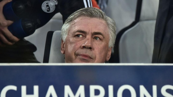Real Madrid thời HLV Ancelotti chỉ có bán chứ không mua. Ảnh AP.