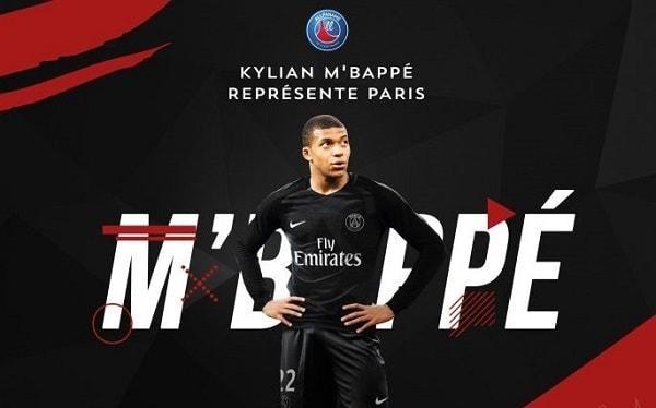 Sau Messi, C.Ronaldo thì Mbappe (PSG) đang tốn rất nhiều giấy bút của báo chí châu Âu. Ảnh MMC.