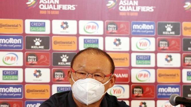 Ông Park Hang-seo và các học trò vẫn có quyền tự hào về trận đấu này. Ảnh VFF.