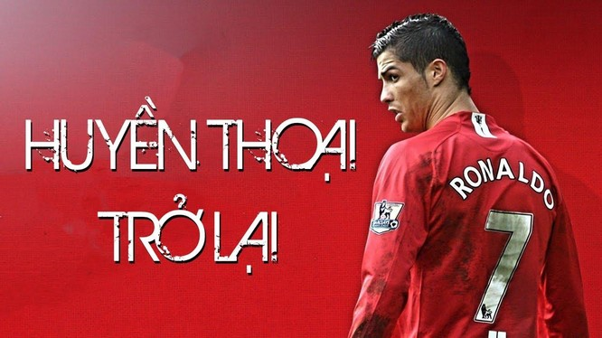 Cristiano Ronaldo đã trở lại, lợi hại hơn xưa. Ảnh AP.