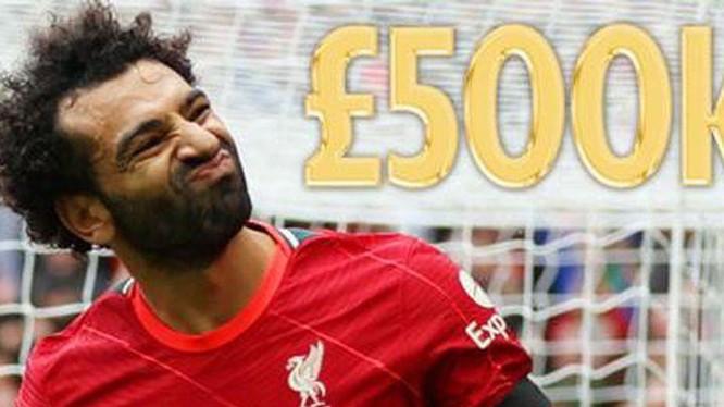 Salah đề xuất mức lương đáng kinh ngạc 500.000 bảng/tuần để tái ký hợp đồng mới. Ảnh CNN.