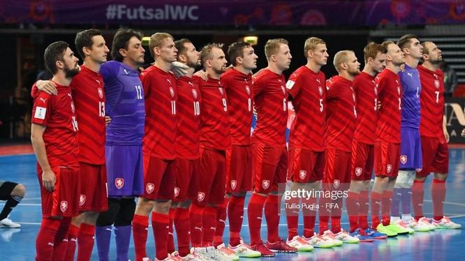 Trận đấu với CH Czech sẽ quyết định đến tấm vé của Futsal Việt Nam. Ảnh Getty.