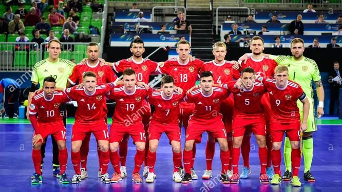 Ở Futsal World Cup 2021 lần này, tuyển futsal Nga có 3 cầu thủ trụ cột gốc Brazil gồm Robinho, Eder Lima và Romulo. Ảnh FIFA.