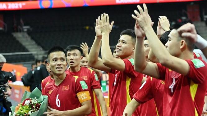 Đội tuyển Việt Nam thi đấu rất ấn tại giải đấu. Ảnh VFF.