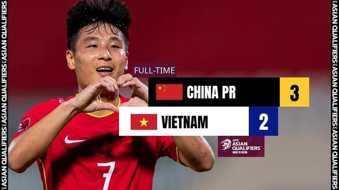 Ghi được 2 bàn thắng, Wu Lei là cầu thủ xuất sắc nhất trận đấu. Ảnh AFC