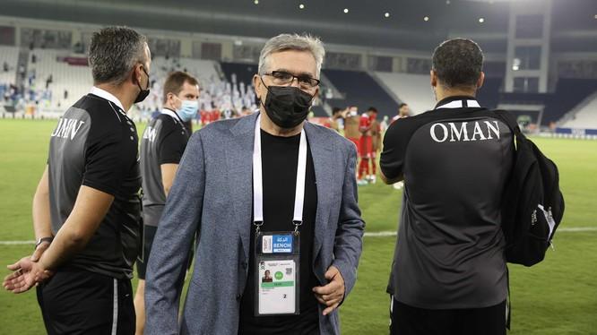 Branko Ivankovic, HLV trưởng đội tuyển quốc gia Oman. Ảnh AFC.