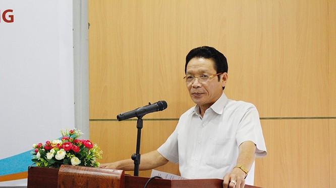 Thứ trưởng Bộ TT&TT Hoàng Vĩnh Bảo phát biểu tại Hội thảo