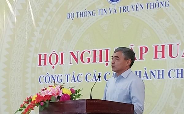 Thứ trưởng Nguyễn Minh Hồng phát biểu tại Hội nghị