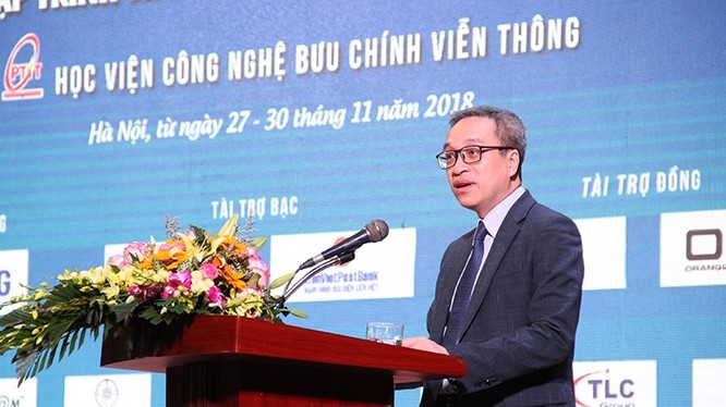 Thứ trưởng Bộ TT&TT Phan Tâm phát biểu tại Lễ khai mạc