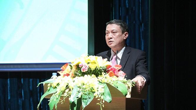 Thứ trưởng Bộ TT&TT Phạm Hồng Hải phát biểu chỉ đạo Hội nghị.